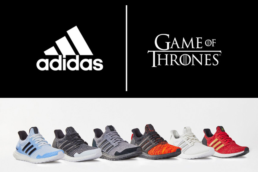 utilizar canta Carretilla  RAFFLE ADIDAS ULTRABOOST GAME OF THRONES - The Sneaker One Blog