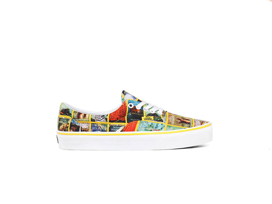 NATIONAL GEOGRAPHIC X VANS ERA COVERS